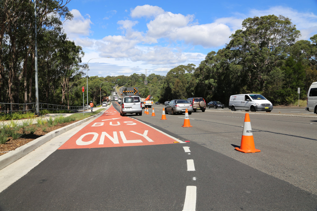 Bus Priority Project West Pymble